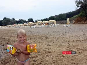 Пляж поселок Песчаное